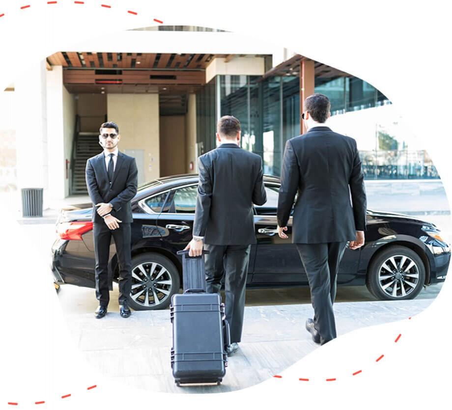Lux αυτοκίνητο με οδηγό για τις μετακινήσεις σας από την easyguide